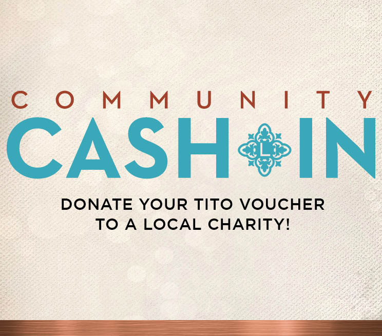 Community Cash In Donate Your TITO Voucher To a Local Charity