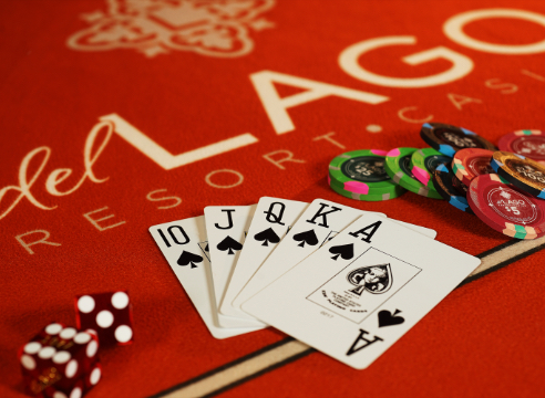 Dice, Cards and Poker Chips