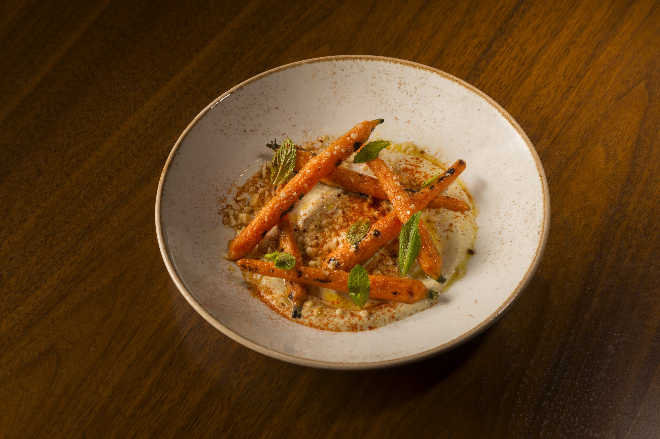 Charred Carrots at Sociale Cafe and Bar