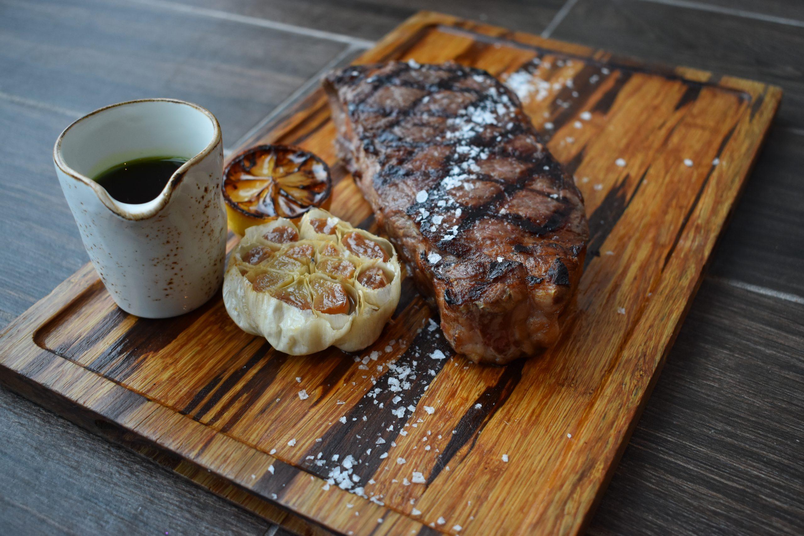 Steak at Portico by Fabio Viviani