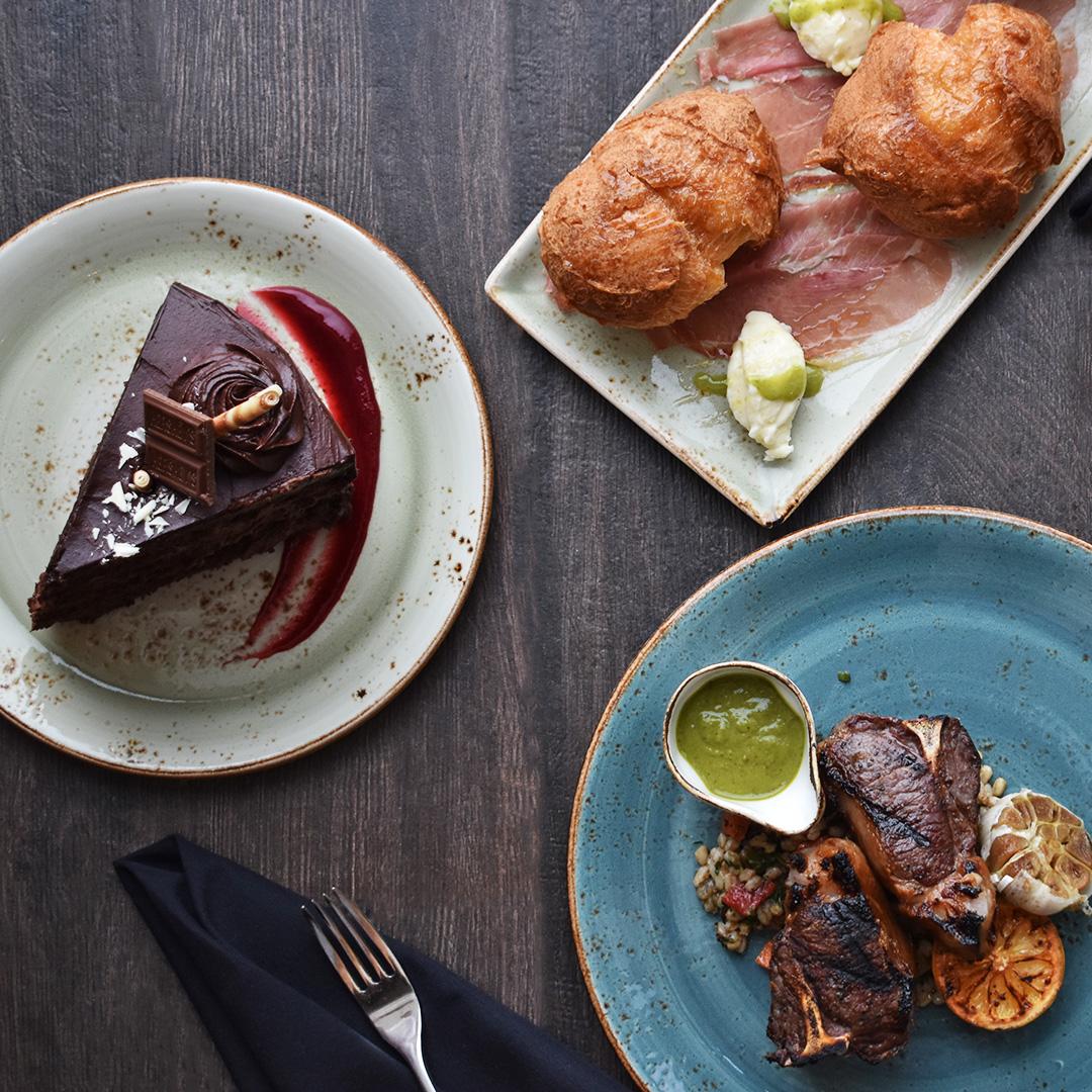 Food at Portico by Fabio Viviani